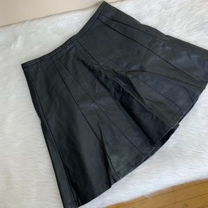 The Limited Leather Skirt | Size Small